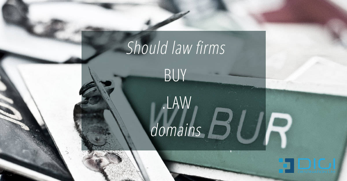 Should law firms buy .law domains?