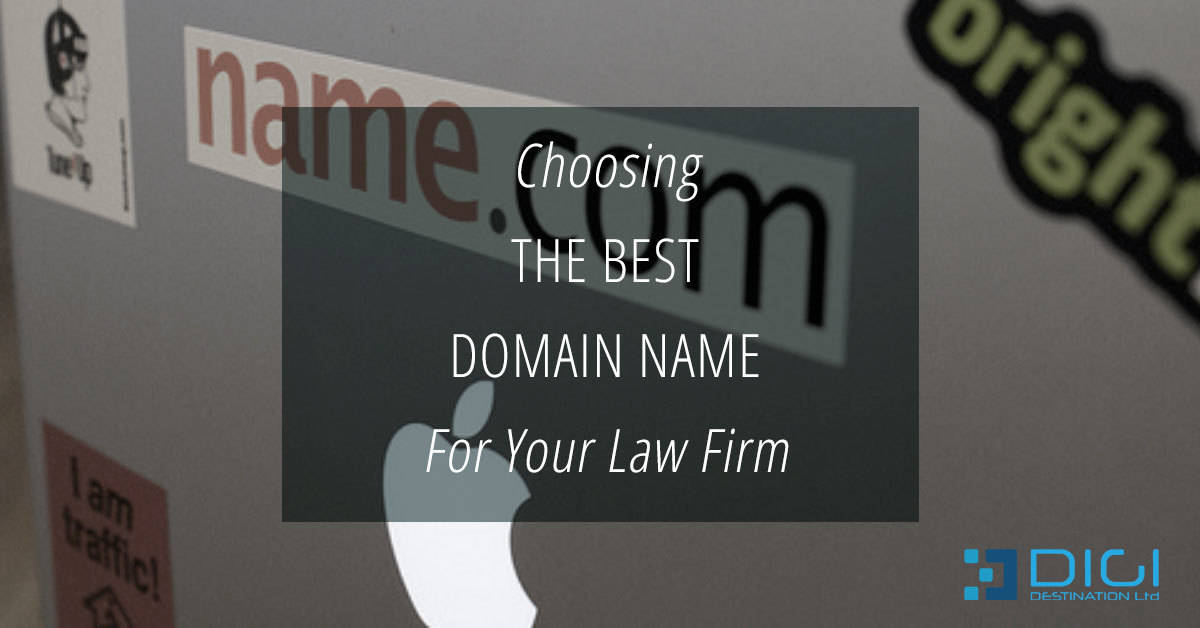 Choosing the best domain for your law firm